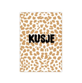 Kusje || A5 poster