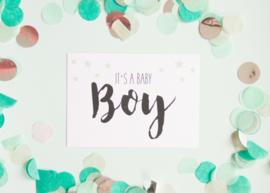 It's a Baby Boy || A6 Kaart