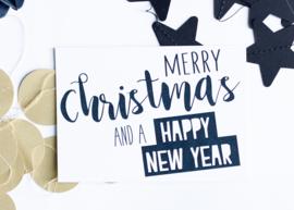 Merry Christmas || A6 Kaart