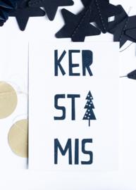Kerstmis || A6 Kaart