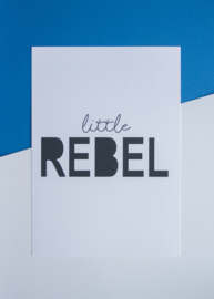 Little Rebel || A4 Poster