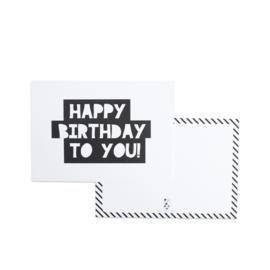 Kaartenset Verjaardag || Set van 6 ansichtkaarten