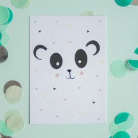 Panda Sprinkles || A6 Kaart