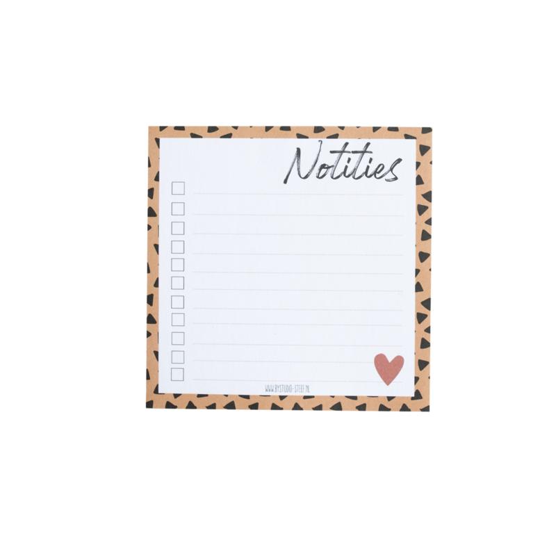 Notities || notitieblok