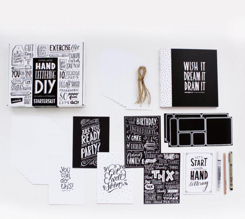 DIY Handletterbox 'Starterskit' Paperfuel