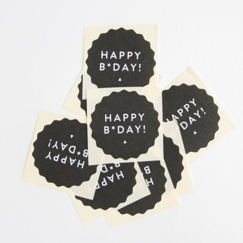 Happy B*Day!    Stickers