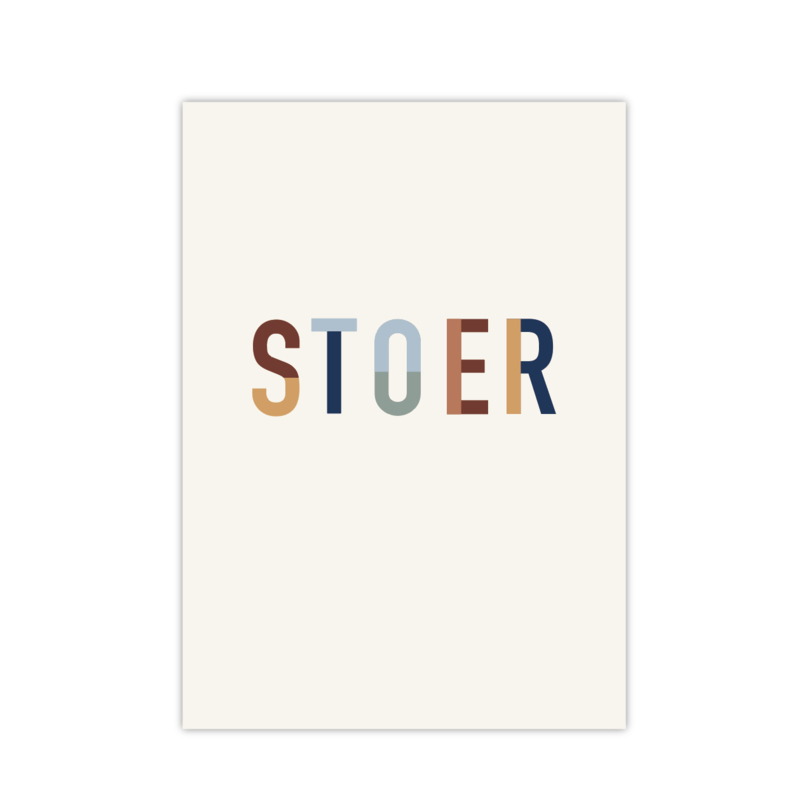 Stoer || A5 poster