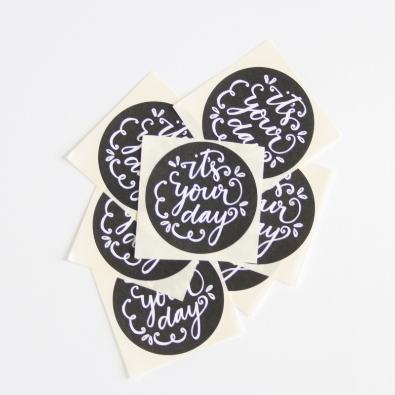 It's your day || Stickers