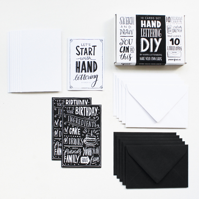 DIY Handletterbox 'Make your own Cards