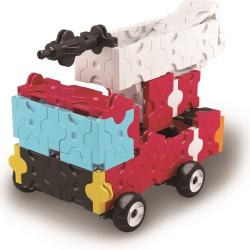 LaQ Hamacron Constructur Brandweerwagen