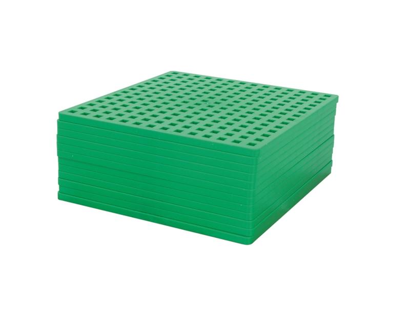 Plus-Plus basisplaten - 12 bouwplaten