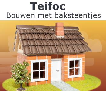 Teifoc, bouwen met baksteentjes, teifoc baksteentjes