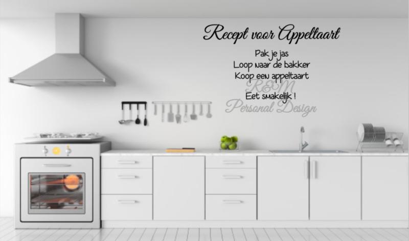 Recept Appeltaart