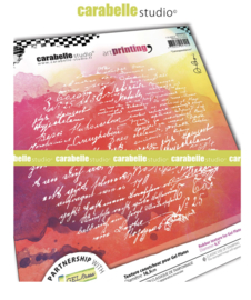 Carabelle studio - Art printing plate - 'Correspondances'