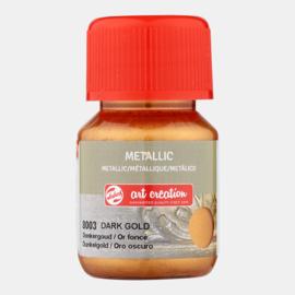 Metallic 'Donker goud'