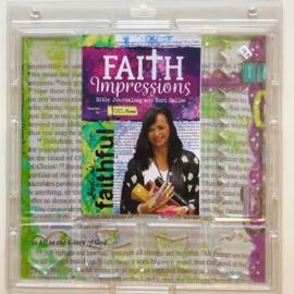 Faith Impressions Gel Press (set met 6 gelli plates)