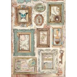Stamperia - Atelier Frames A4