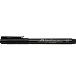 Faber-Castell Pitt Artist pen Zwart (S)