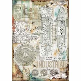 Stamperia - Industrial A4