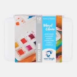 Van Gogh watercolor Box 'Vibrant Colours'