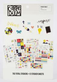 Carpe Diem Sticker boek FAITH (12 stickervellen)