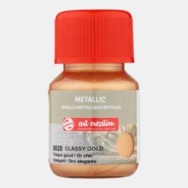 Metallic 'Chique goud'