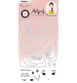 Studio Light - Karin Joan - Missees- Clear stamps & cutting dies Nr 6