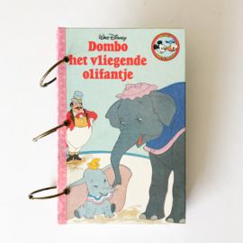 Junkjournal - Dumbo het vliegende olifantje (romantisch thema)