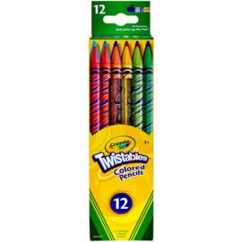 Crayola Twistables (12 stuks)