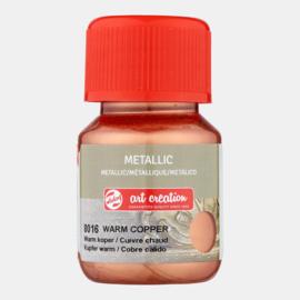 Metallic 'Warm Koper'
