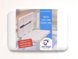 Create your own pocket box (Lege doos voor watercolor napjes)