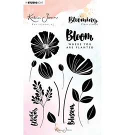 Studio Light - Karin Joan - Blooming- Clear stamps nr01 - A6
