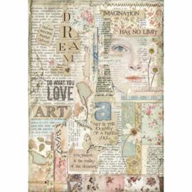 Stamperia - Love Art A4