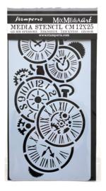 Stencil Clocks