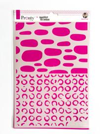 Pronty Stencil Circles A4