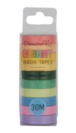 Dovecraft BRIGHT Washi Tape