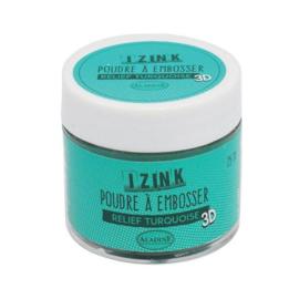 iZink embossing poeder 'Turquoise'