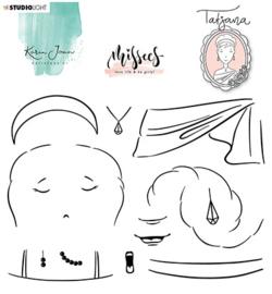 Studio Light - Karin Joan - Missees - Clear Stamps Tatjana nr 06