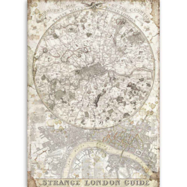 Stamperia - Lady Vagabond Strange London Guide A4