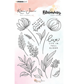 Studio Light - Karin Joan - Blooming- Clear stamps nr4 - A6