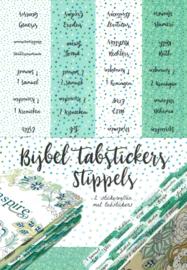 Bijbel tabstickers 'Stippels'