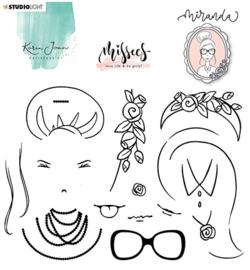Studio Light - Karin Joan - Missees - Clear Stamps Miranda nr 07