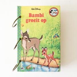 Junkjournal - Bambi groeit op (botanisch thema)