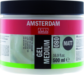 Amsterdam Gel Medium Mat 080 500ml