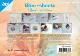 Joy crafts - Glue-sheets (8 vellen A5)