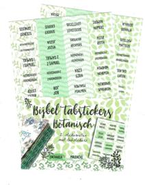 Bijbel tabstickers 'Botanisch'