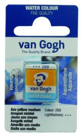 van Gogh watercolor napje 'Azogeel middel'