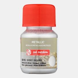 Metallic 'Blinkend Zilver'