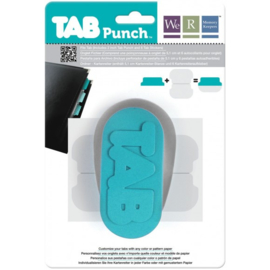 We are memory keepers Tab punch