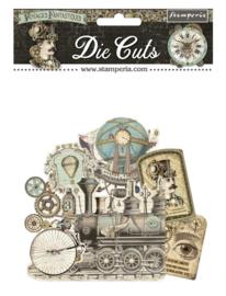Stamperia - Die Cuts - Voyages
